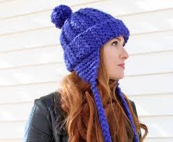 Earflap Hat Knitting Pattern Magnificent Ear Flap Hat [knitting Pattern] Gina Michele