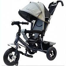 <b>Lexus</b> Trike: <b>Велосипед 3х</b> колесн. с ручкой и капюшоном, Grey