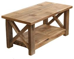 farmhouse coffee table x made from reclaimed wood all natural wood color