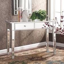 fabulous mirrored furniture. Fabulous Mirrored Accent Table Hallway Facil Furniture I