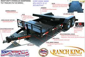 com tilt90 hd hyd dampening tilt trailer