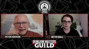 Beth Ball   Fireside with Peter Adkison: New Voices in D&D - YouTube