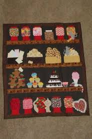 97 best Mason Jar Quilt/Variations images on Pinterest   Jars ... & Snack attack, another take on a jar quilt. Adamdwight.com