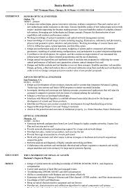 Optical Engineer Resume Optical Engineer Resume Samples Velvet Jobs 1