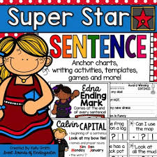 Super Star Sentence Sentence Writing