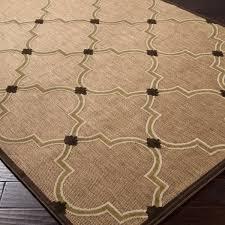 black and tan outdoor rugs marvelous woven bernardino indoor moroccan lattice area rug interior design