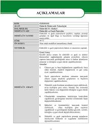 T.C. MİLLÎ EĞİTİM BAKANLIĞI MEGEP (MESLEKÎ EĞİTİM VE ÖĞRETİM SİSTEMİNİN  GÜÇLENDİRİLMESİ PROJESİ) ELEKTRİK ELEKTRONİK TEKNOLOJİSİ - PDF