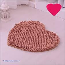 fashion heart shaped bath mats super absorbent non slip doormat