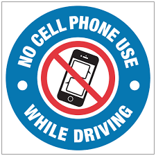 No Cell Phone Signs No Cell Phone Use While Driving Stonehouse Signs