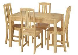 Vollholz Essgruppe Mit Tisch Und 4 Stühle Kiefer Massivholz Natur 9070 51 B Set 22