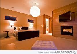 Modern Bedroom Fireplace Designs