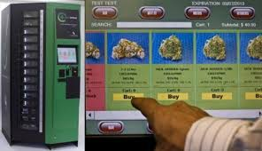 Dispensary Vending Machine Fascinating Coming Soon To A Dispensary Near You A Marijuana Vending Machine