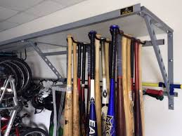 This baseball rack is perfect for storing bats when it isnt time to play  ball. Keep your equipment in perfect condition, while keeping it easily  accessible.