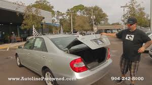 Autoline's 2002 Toyota Camry LE Walk Around Review Test Drive ...