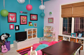 Decorations Playroom Paint Color Ideas Funny With Interior Furniture