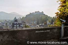 The next site on the sound of music location tour is a moderate uphill walk from kapitalplatz. The Sound Of Music Film Locations