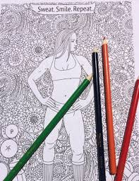 Small Picture Fitness Coloring Pages Fitness Colouring Page Motivational