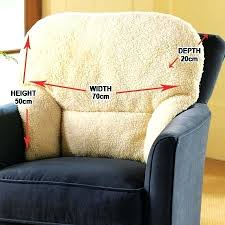 ... Best solutions Of Armchair Back Support with Back Support Cushions for  Armchairs Fleece Back Rest Lumbar