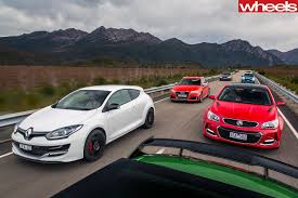 BMW Convertible bmw vs mercedes drift : Commodore SS-V Redline v Audi RS3 v BMW M135i v Mercedes-AMG A45 v ...
