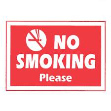 No Smoking Please Sign Catering Equipment Warehouse