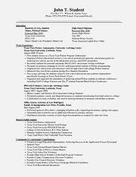 Resume Ged Resume For Study