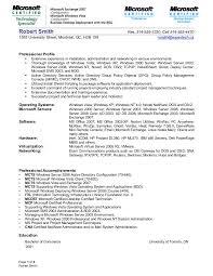 ... Windows Server Administration Sample Resume 6 12 ...
