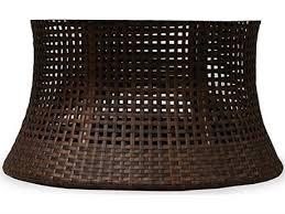 lloyd flanders havana wicker 48 round umbrella table base