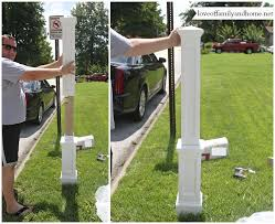 mailbox post ideas. Affordable Quick U Easy Mailbox Makeover With Post Ideas. Ideas