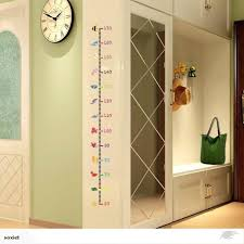 Removable Height Chart Measure Wall Sticker Decal For Kids Baby Room Undersea