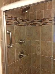Decorative Bathroom Tile Tile Pattern Change Upper Tile Diamond Pattern Lower Straight