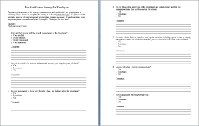 Survey Template Doc 015 Customer Satisfaction Survey Template Word Ideas Free