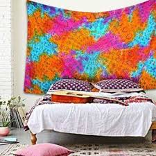 tie dye mandala tapestry wall hangings dorm room twin bedding bed cover