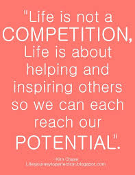Competition Quotes Impressive Life Is Not A Competition Inspiring Words Pinterest Wisdom