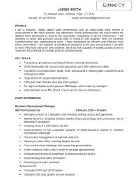 Nursing Resume With Profile Information Feat Experience For How To     CV Succeed