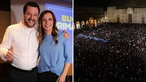 Salvini a Bologna: le sardine rosse contro il Paladozza leghista