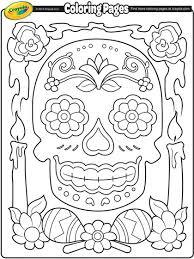 Small Picture Dia de los Muertos Coloring Page crayolacom