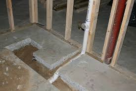 adding a basement bathroom. How To Install A Shower In The Basement On Concrete Adding Bathroom E