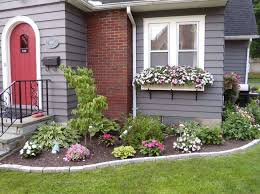 Best flower bed ideas for flower gardens in front of house