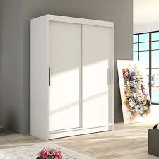wardrobe sliding doors amimi1 white modern bedroom storage closet 120 cm 3 9