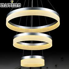 outdoor pendant lighting modern. Delighful Modern New Modern LED Ring Pendant Light Arcylic Circle Lamp Fixture  Suspension Outdoor Lights Free Shippingin From  With Lighting 4