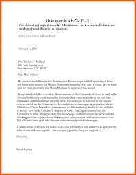 Letter Of Support Sample Template Letter Of Support Template Apa Examples 5