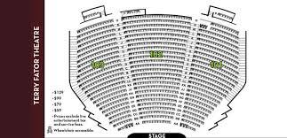 Terry Fator Theater Seating Chart Las Vegas Best Picture