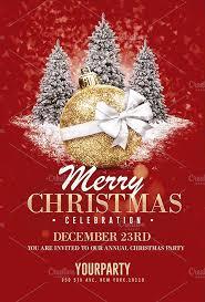 Christmas Flyer Templates Christmas Flyer Templates Psd Flyer Templates Created By