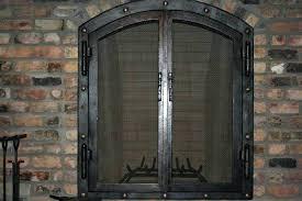 fireplace screens and doors decorative metal screen doors with inc custom metal fireplace doors custom metal fireplace screens