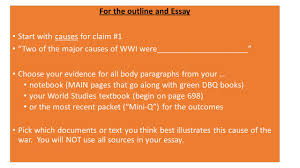 essay on world war aftermath of the first world war the british  introduction leave space for sentence thesis at end of for the outline and essay start causes essays on world war