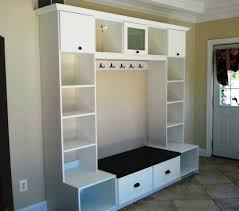 Entryway Storage with Hooks contemporary-entry