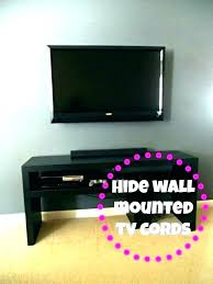 hiding your cable box how to hide cables wall mount on in large size small cabinet and wires