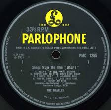 ticket to ride song ticket to ride the beatles ukulele cover  the beatles collection help parlophone pmc variation b other of the original labels used a thick