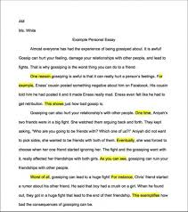 sample personal essays for college coursework academic service how  example personal essay toreto co how to write a good for college applications 14751 how to