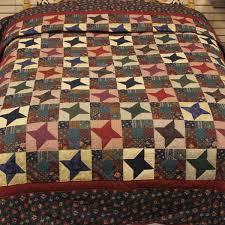 Amish Quilts Lancaster, PA | Ancient Star Queen | Family Farm Quilts & Ancient Star Quilt – queen Adamdwight.com